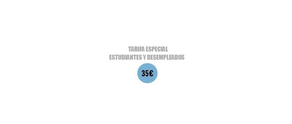 Tarifas especiales